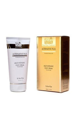 ALTERNATIVE PLUS - MULTI INTENSIVE FOOT CREAM - Dead Sea Cosmetics Products