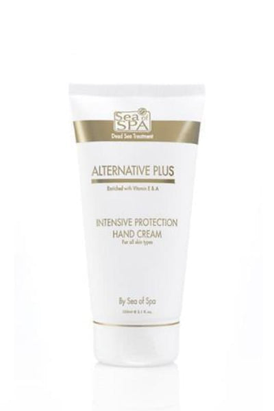 ALTERNATIVE PLUS - INTENSIVE PROTECTION HAND CREAM - Dead Sea Cosmetics Shop