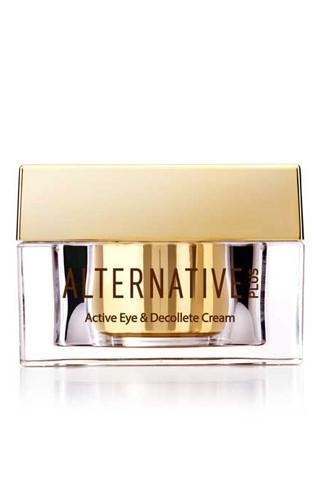 ALTERNATIVE PLUS - TIME CONTROL ACTIVE EYE & DÉCOLLETÉ CREAM - Dead Sea Cosmetics Products