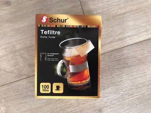 Schur Tea Filters - Short