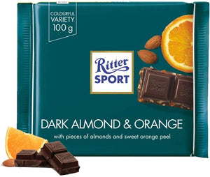 Ritter Sport Dark Almond and Orange