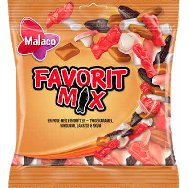 Malaco Favorit Mix - danishnordic