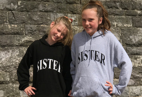 Sister / Brother Hoodies