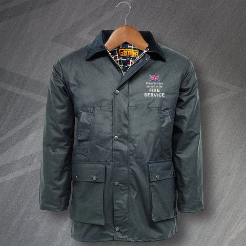 Fire Service Wax Jacket
