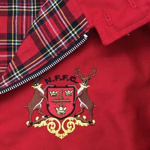 Forest Retro Harrington Jacket