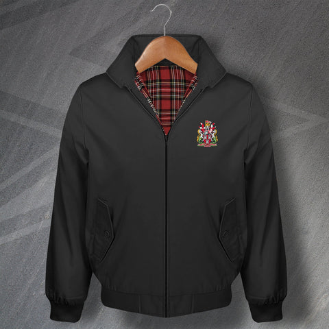 Retro Newcastle Harrington Jacket