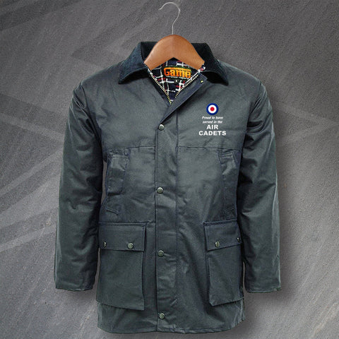 Air Cadets Embroidered Wax Jacket