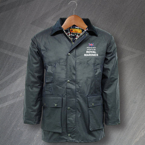 Royal Marines Wax Jacket