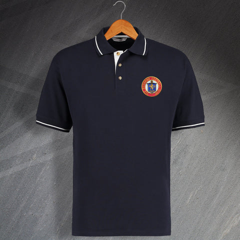 Rangers Retro Contrast Polo Shirt