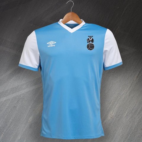 Retro Coventry Football Shirt