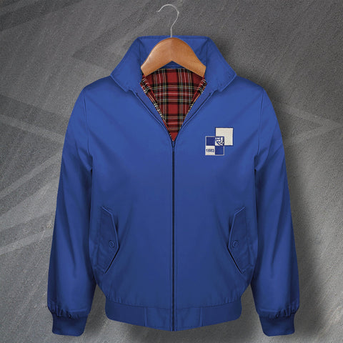 Retro Bristol Rovers Harrington Jacket