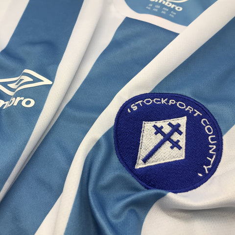 Retro Stockport Umbro Shirt