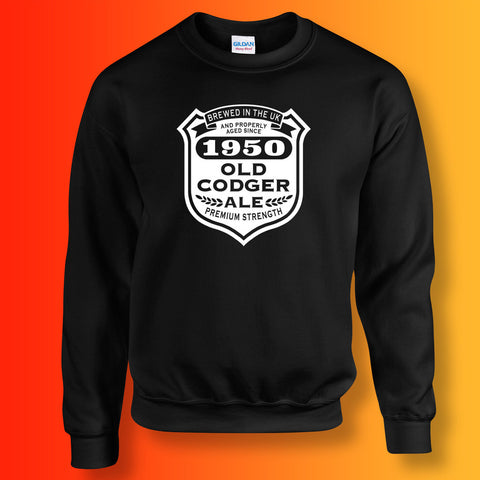 Brewed In The UK 1950 Old Codger Ale Sweatshirt