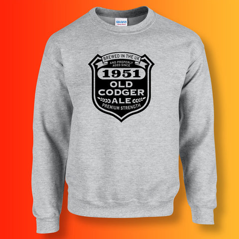 Brewed In The UK 1951 Old Codger Ale Sweatshirt
