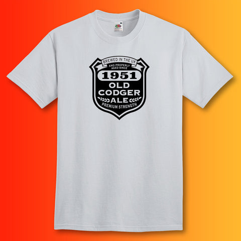 Brewed In The UK 1951 Old Codger Ale T-Shirt