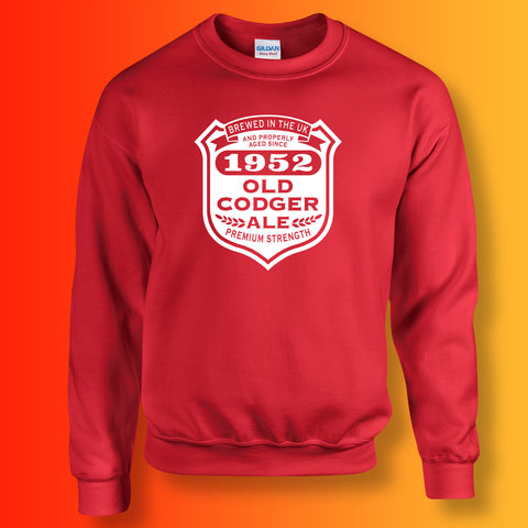 Brewed In The UK 1952 Old Codger Ale Sweatshirt