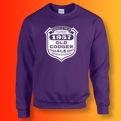 Brewed In The UK 1957 Old Codger Ale Sweatshirt
