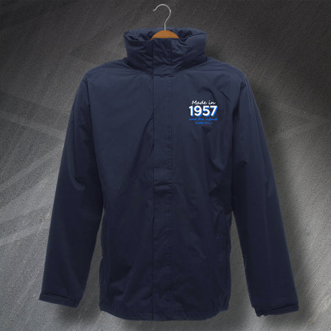 1957 Jacket Embroidered Waterproof Made in 1957 and The Legend Lives On