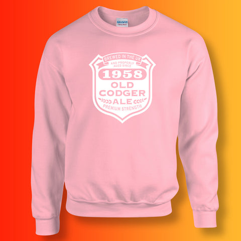 Brewed In The UK 1958 Old Codger Ale Sweatshirt