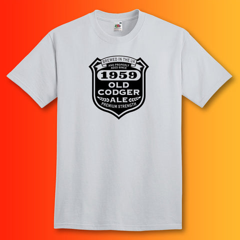 Brewed In The UK 1959 Old Codger Ale T-Shirt