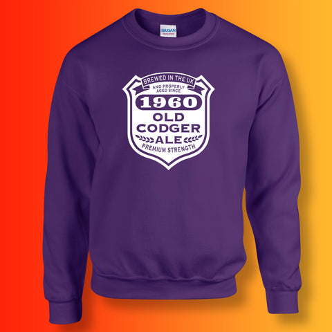 Brewed In The UK 1960 Old Codger Ale Sweatshirt