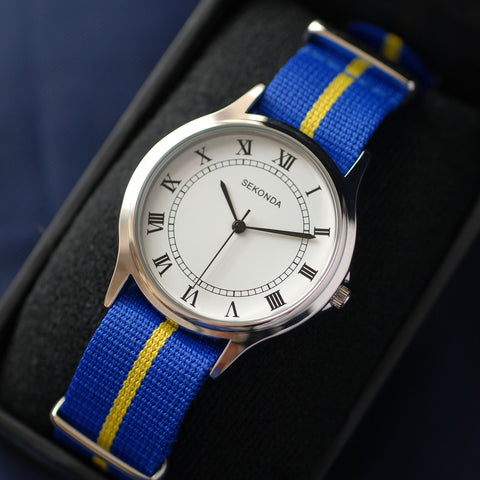 Army Watch with Choice of Regiment or Service Coloured Strap