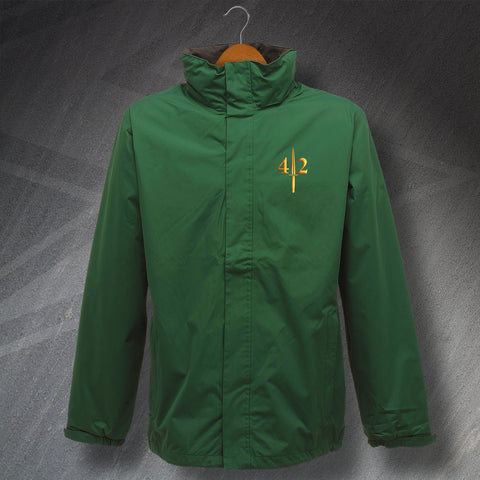 42 Commando Waterproof Jacket with Embroidered Badge