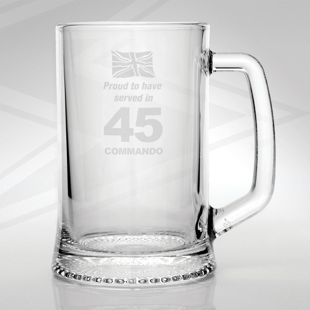 45 Commando Glass Tankard