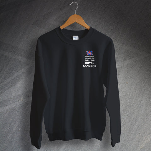 9th/12th Royal Lancers Sweatshirt