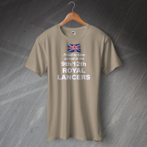 9th/12th Royal Lancers T Shirt