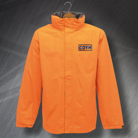 Luton Football Jacket Embroidered Waterproof COYH
