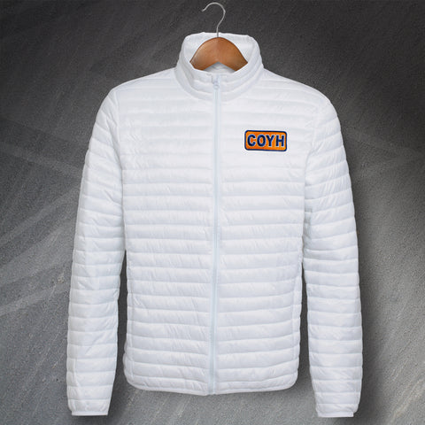 COYH Embroidered Fineline Padded Jacket