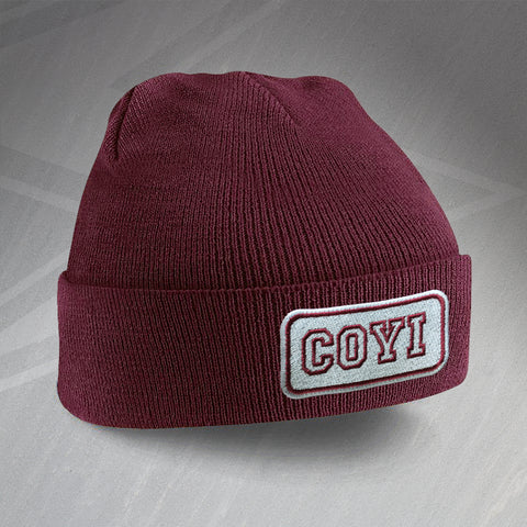 COYI Embroidered Beanie Hat