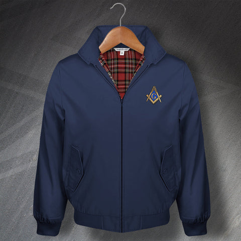 Masons Embroidered Classic Harrington Jacket