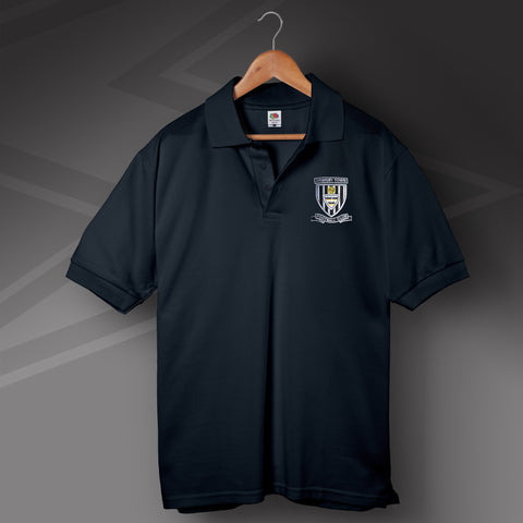 Grimsby Football Polo Shirt Embroidered 1960s