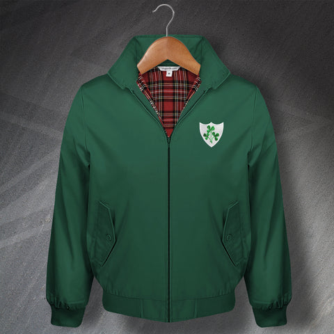 Ireland Football Harrington Jacket Embroidered 1978