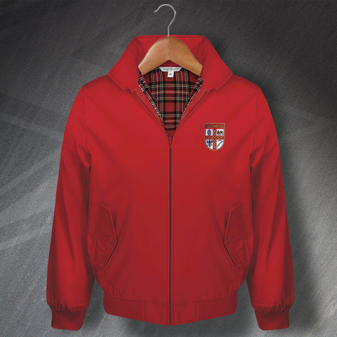 Stoke Football Harrington Jacket Embroidered 1953 or 1977