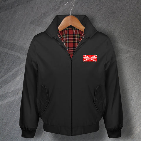 Sunderland Football Harrington Jacket Red Union Jack