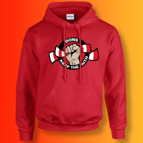 Dons Keep The Faith Hoodie