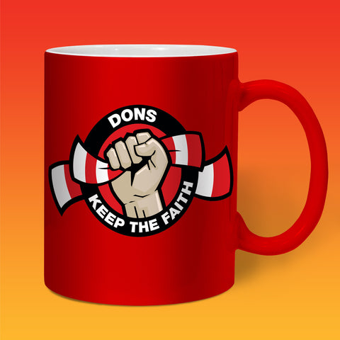Dons Keep The Faith Mug