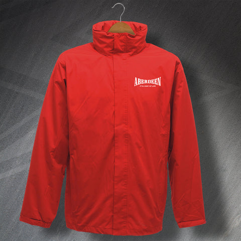 Aberdeen It's a Way of Life Embroidered Waterproof Jacket