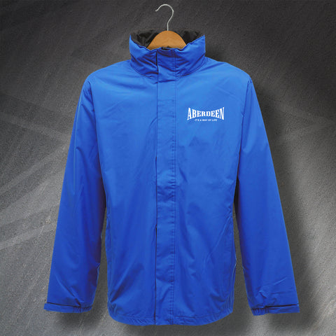 Aberdeen Jacket Embroidered Waterproof It's a Way of Life