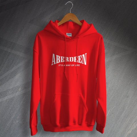 Aberdeen Football Hoodie It's a Way of Life
