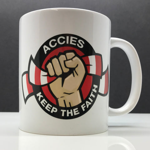 Accies Keep The Faith Mug