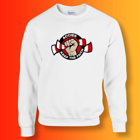 Accies Keep The Faith Sweatshirt