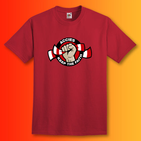 Accies Keep The Faith Shirt