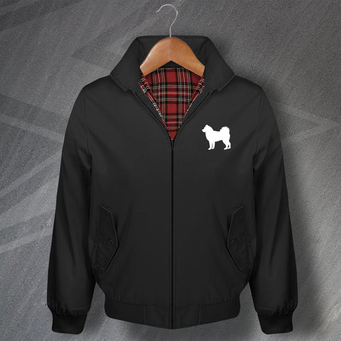 Alaskan Malamute Harrington Jacket