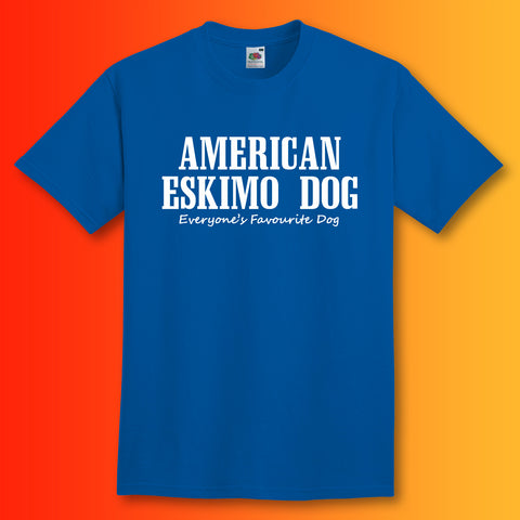 American Eskimo Dog Everyone's Favourite Dog T-Shirt