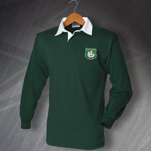 Plymouth Football Shirt Embroidered Long Sleeve Argyle FC