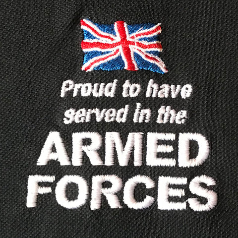 Armed Forces Embroidered Badge